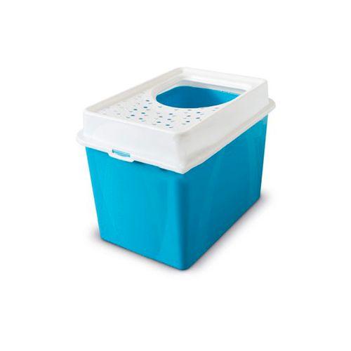 Rotho-WC-Berty-com-Entrada-Superior-Azul-Claro