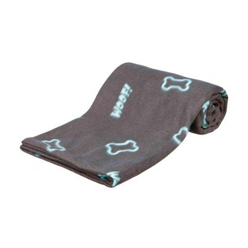 Trixie-Cobertor-Barney-Blanket-Preto---Verde-