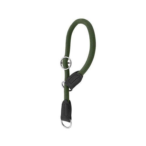 Nayeco-Envy-Roll-Strangler-Collar-Verde-Escuro