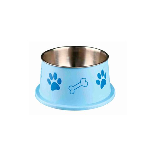 Trixie-Long-Ear-Bowl-in-Stainless-Steel-and-Plastic-Azul