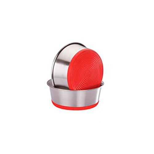 Eurosiam-Comedouro-Premium-Heavy-Dish-Vermelho