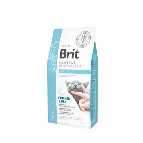 Brit-Veterinary-Diet-Cat-Obesity-Grain-Free-Chicken---Pea-