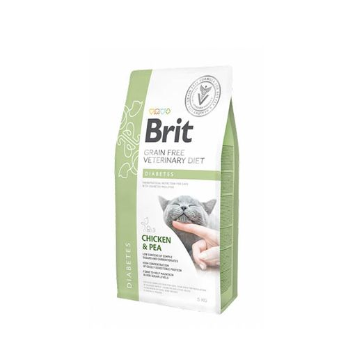 Brit-Veterinary-Diet-Cat-Diabetes-Grain-Free-Chicken---Pea