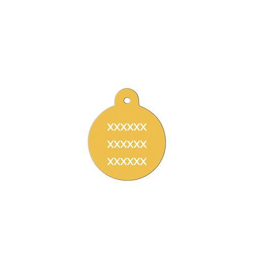 Medalha-dourada-com-formato-redondo-muito-pequeno-altura-19-cm-X-largura-19-cm