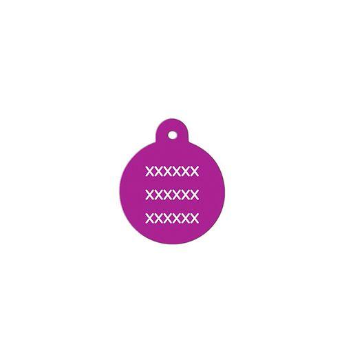 Medalha-roxa-com-formato-redondo-muito-pequeno-altura-19-cm-X-largura-19-cm