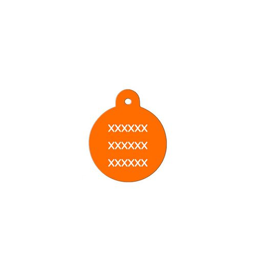 Medalha-laranja-com-formato-redondo-muito-pequeno-altura-19-cm-X-largura-19-cm