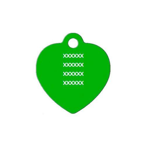 Medalha-verde-com-formato-de-coracao-grande-altura-30-cm-X-largura-30-cm