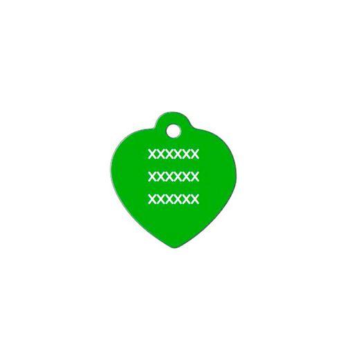 Medalha-verde-com-formato-de-coracao-pequeno-altura-25-cm-X-largura-25-cm