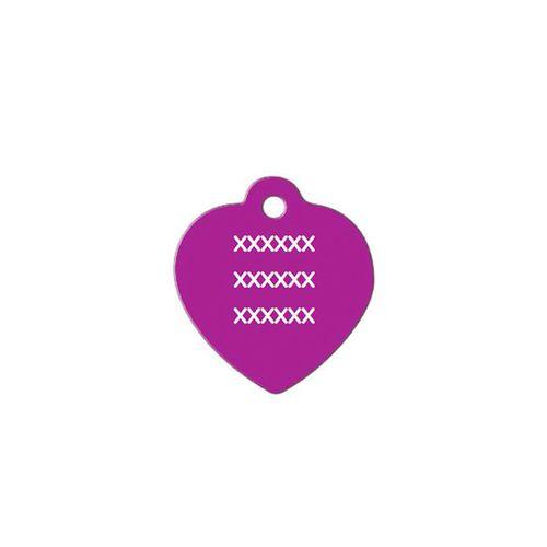 Medalha-roxa-com-formato-de-coracao-pequeno-altura-25-cm-X-largura-25-cm