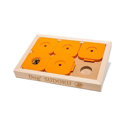 Dog--SUDOKU®-Medium-Advanced-M-6-Orange