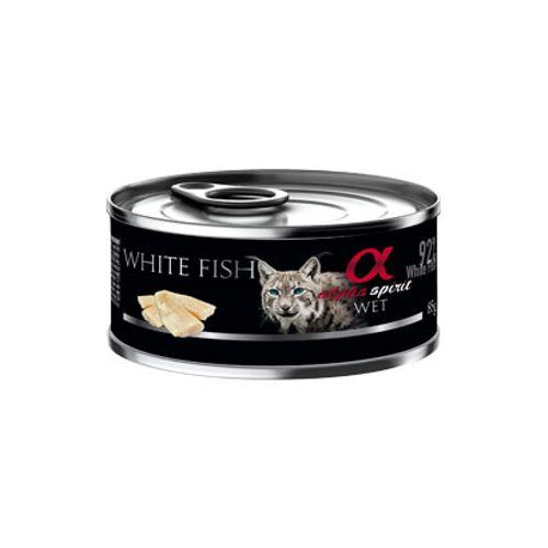 Alpha-Spirit-Gato-Peixe-Branco-|-Humido-Lata