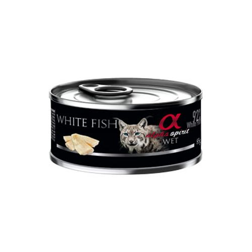 Alpha-Spirit-Gato-Peixe-Branco- -Humido-Lata