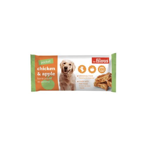 Eurosiam-Dog-Snack-Barra-Chicken---Apple