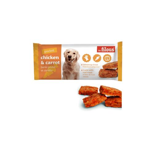 Eurosiam-Dog-Snack-Barra-Chicken---Carrot