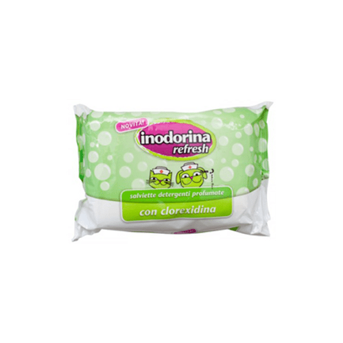 Inodorina-Toalhete-Refresh-|-Clorexidina-40-Toalhetes