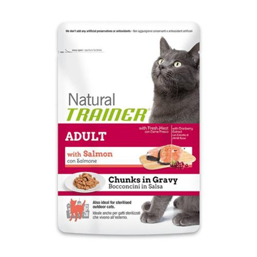 Natural-Trainer-Cat-Adult-with-Salmon-in-Gravy-|-Wet-Saqueta