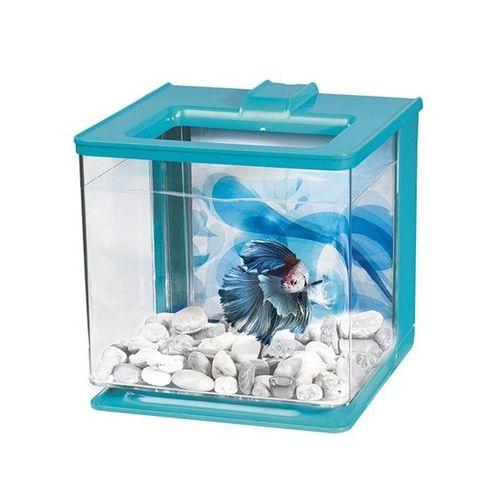 MARINA-Aquario-Kit-p--Betta-EZ-Care-25L-Azul