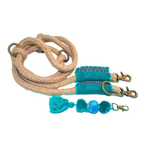 Bink-dog-leash-blue-pompom