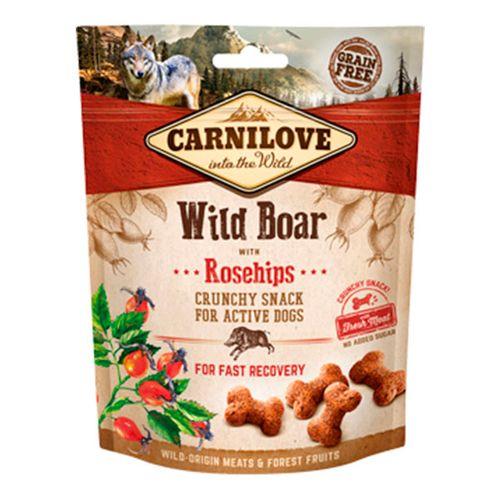 Carnilove-Dog-Crunchy-Snack-Wild-Boar---Rosehips