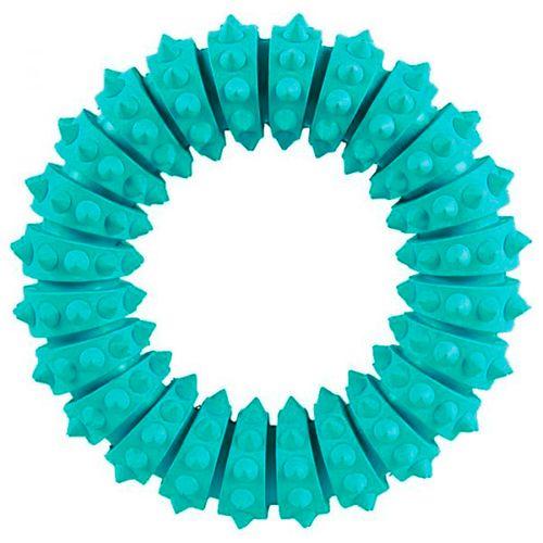 Trixie-Brinquedo-Denta-Fun-Cyber-Argola-em-borracha-Natural-verde-Diam.-12-cm