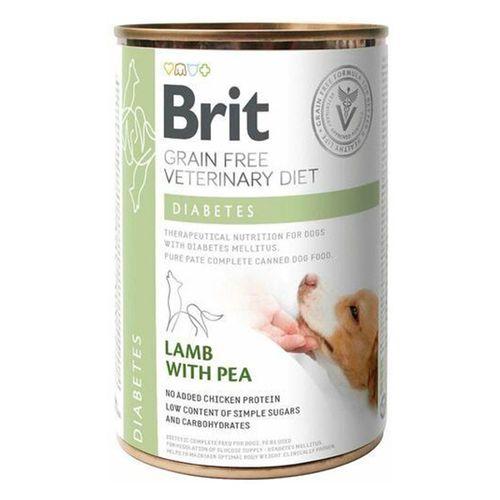 Brit-Veterinary-Diet-Dog-Diabetes-Grain-Free-Lamb-with-Pea-Wet-Lata