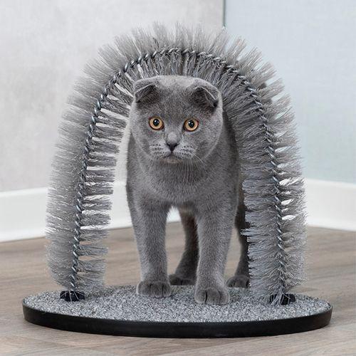 Trixie-Arco-de-Massagem-Cuidado-do-Pelo-para-Gato