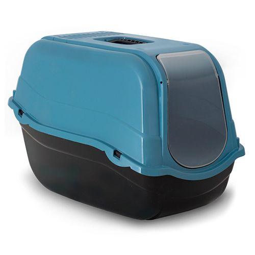 WC-Fechado-para-Gatos-Romeo---57-x-39-x-41-cm-Azul-