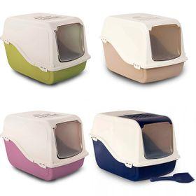 WC-Fechado-para-Gatos--Ariel-TopFree--c-pa----57-x-39-x-38-cm---Cores-Sortidas