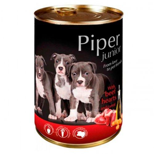 Piper-cao-junior-racao-humida-Vaca-e-Cenoura