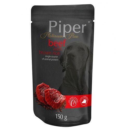 Piper-Platinum-Pure-Cao-Adulto-racao-humida-Vaca-e-Arroz-Integral