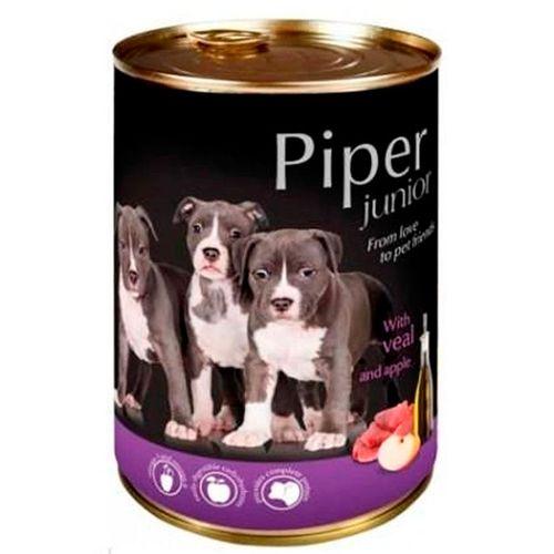 Piper-cao-junior-racao-humida-Vitela-e-maca