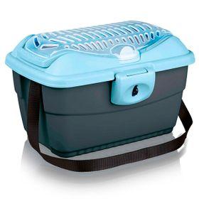 Trixie-Transportadora-Mini-Capri-Azul-e-Prata
