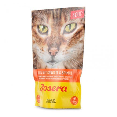 Josera-soup-Gato-Adulto---Sopa-de-frango-cenoura-e-espinafres