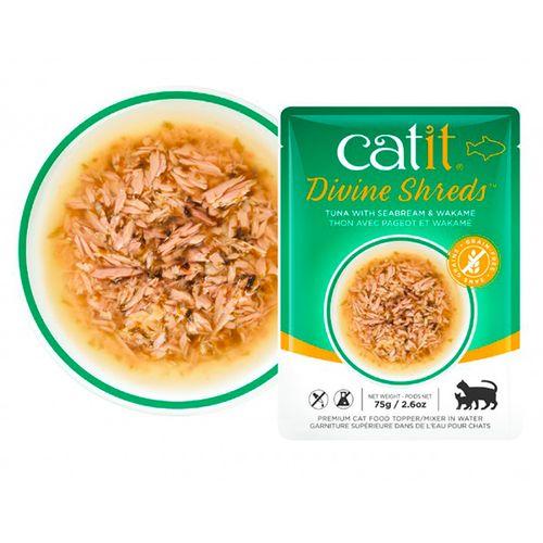 Catit-Divine-Shreds-com-Atum-Dourada-e-Wakame