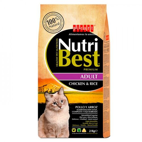 Picart-Nutribest-Cat-Adulto-Frango-e-Arroz-2Kg