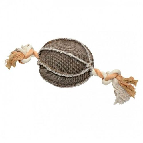 Duvo--Bola-em-tecido-com-corda-para-cao