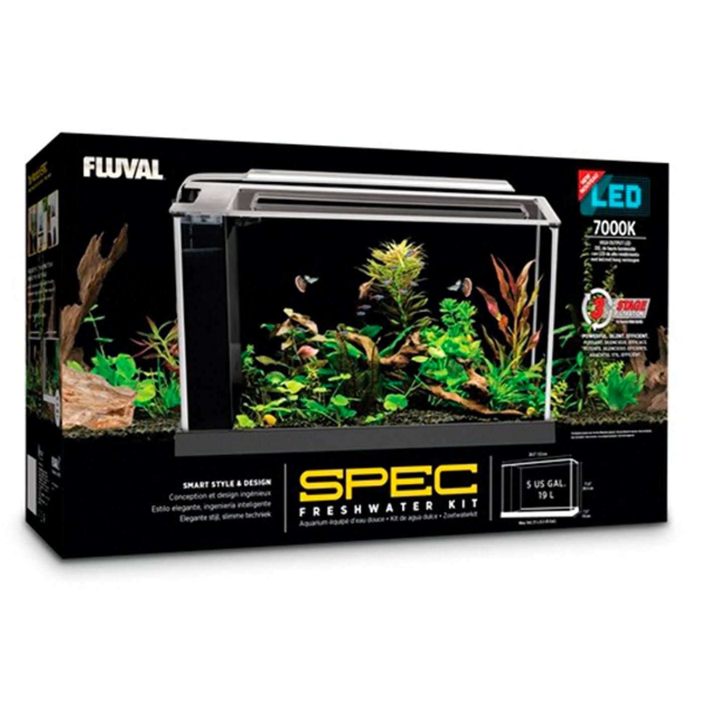 Aquario-FLUVAL-Spec-V-Nano-Branco-38-Leds-19-lts