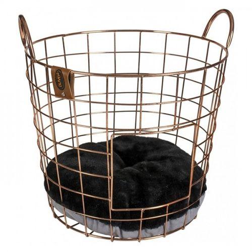 duvo-cesta-de-metal-dourado-para-gatos--1-