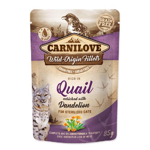 Carnilove_Cat_Sterilized_Quail_with_Dandelion_Wet_Saqueta