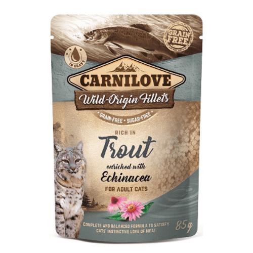 Carnilove_Cat_Trout_with_Echinacea_Wet_Saqueta