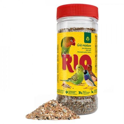rio-mistura-de-areia-e-minerais-para-aves