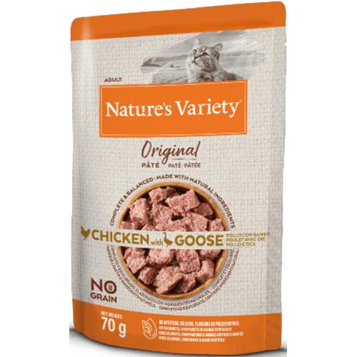 Natures_Variety_Cat_Original_No_Grain_Frango_Ganso_PatA©_Wet_Saqueta