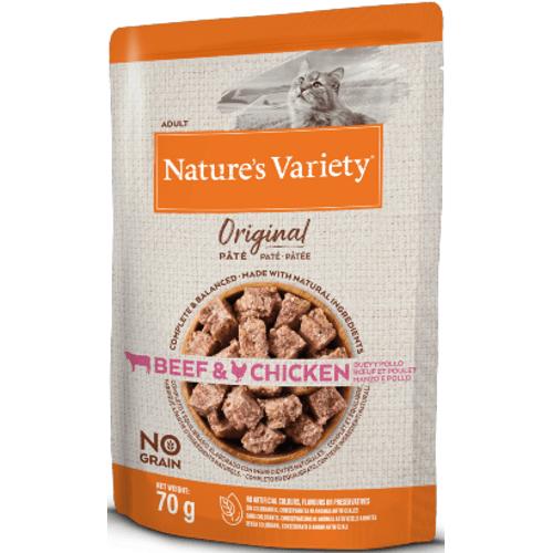 Natures_Variety_Cat_Original_No_Grain_Vaca_Frango_PatA©_Wet_Saqueta